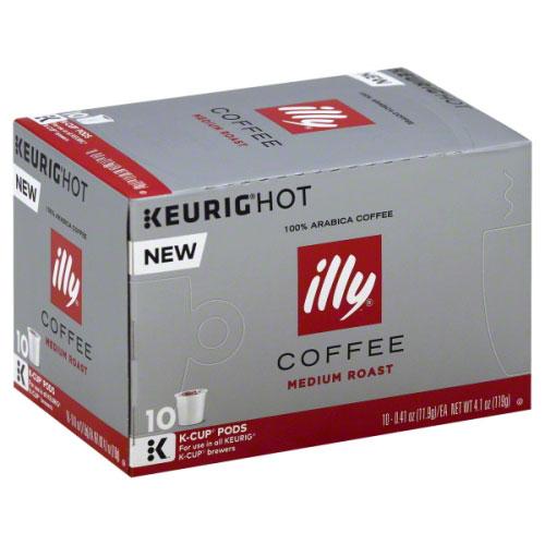 ILLY K-CUP COFFEE MEDIUM ROAST 10-0.41oz