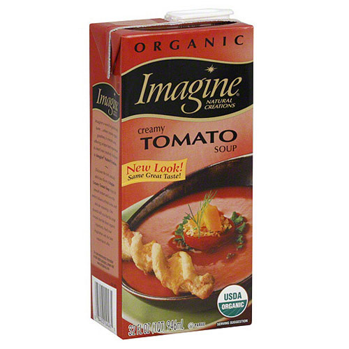 IMAGINE ORGANIC GARDEN TOMATO CREAMY SOUP LOW SODIUM 32oz