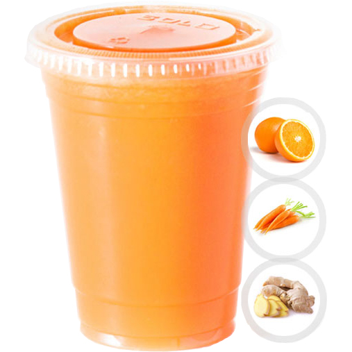 IMMUNITY (ORANGE, CARROT, GINGER) SELECT 16oz OR 20oz
