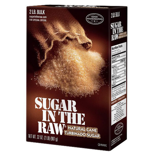 IN THE RAW TURBINADO CANE SUGAR 32oz