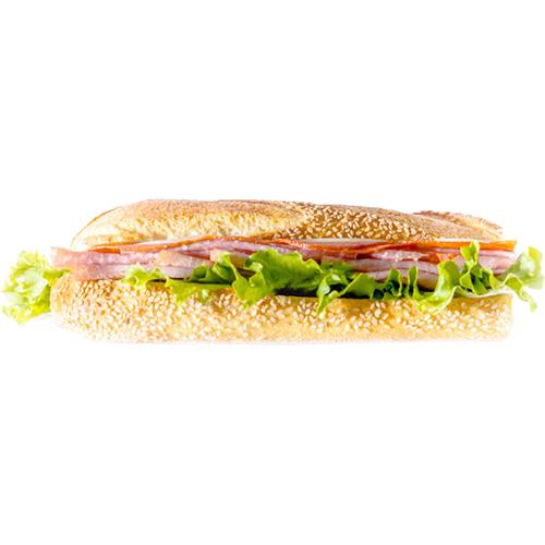Italian Sub - Proscuitto, Salami, Pepperoni, Provolone Cheese, Lettuce, Tomato, Onion, Olive Oil and