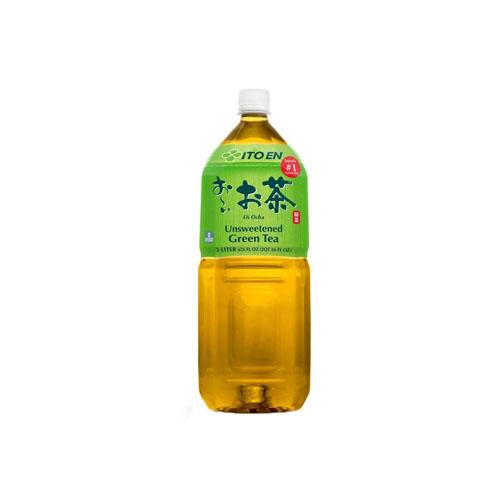 ITOEN OI CHA UNSWEETENED GREEN TEA 67.6oz 2lt