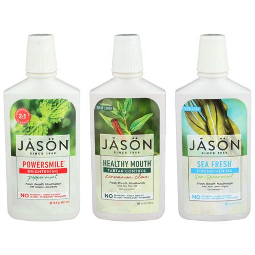 JASON FRESH BREATH MOUTHWASH 16oz