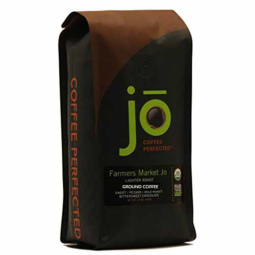 JO COFFEE FARMERS MARKET JO GROUND LIGHTER 12oz