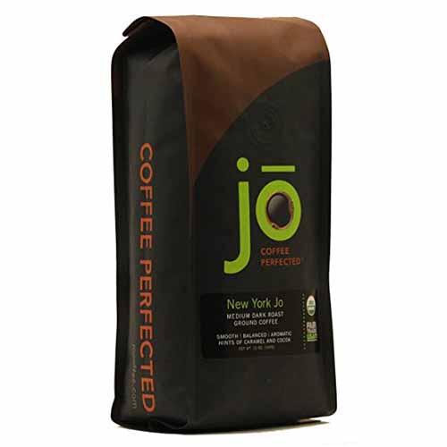 JO COFFEE NEW YORK JO GROUND MEDUIM DARK 12oz