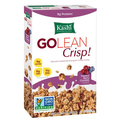 KASHI CEREAL GOLEAN CRISP TOASTED BERRY CRUMBLE