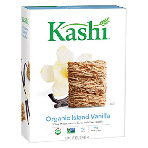 KASHI ORGANIC WHOLE WHEAT BISCUITS ISLAND VANILLA 16.3oz