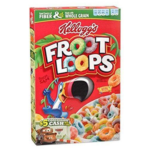 KELLOGG'S CEREAL FROOT LOOPS 10.1oz