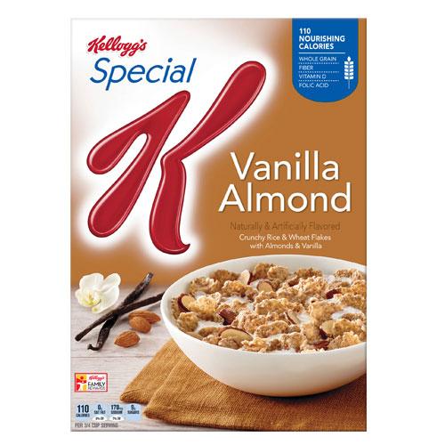 KELLOGG'S CEREAL SPECIAL K VANILLA & ALMOND 12.9oz