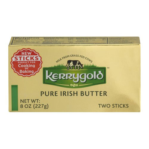 KERRYGOLD IRISH BUTTER SALTED 8oz