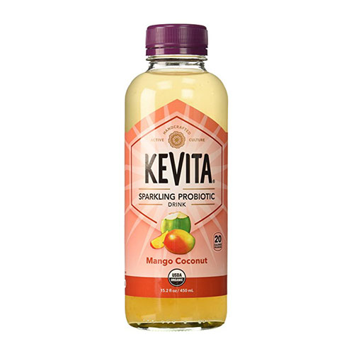 KEVITA SPARKLING PROBIOTIC DRINK MANGO COCONUT 15.2oz