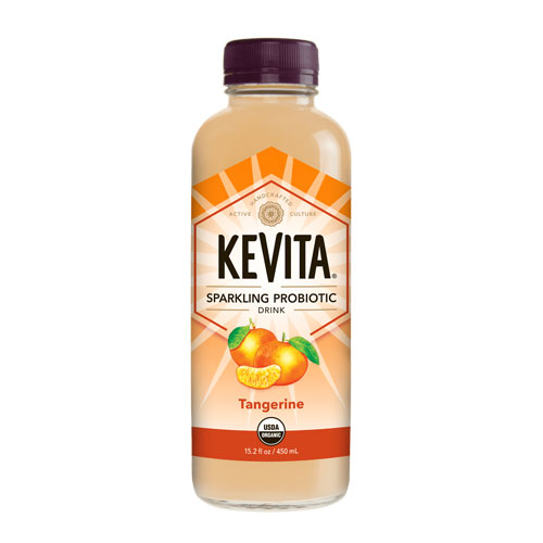 KEVITA SPARKLING PROBIOTIC DRINK TANGERINE 15.2oz