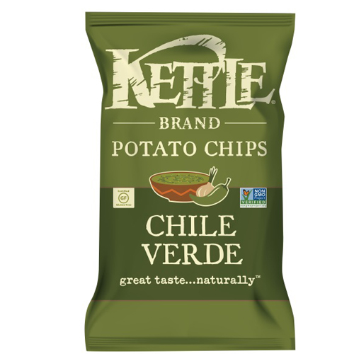 KETTLE POTATO CHIPS CHILE VERDE 5oz