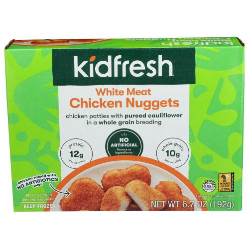 KIDFRESH WHITE MEAT CHICKEN NUGGETS 6.7oz
