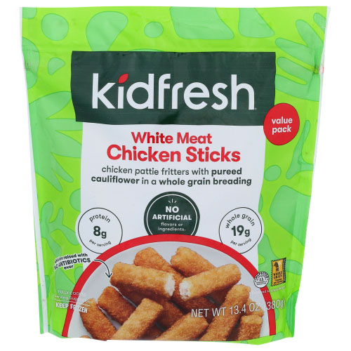 KIDFRESH WHITE MEAT CHICKEN STICKS 13.4oz