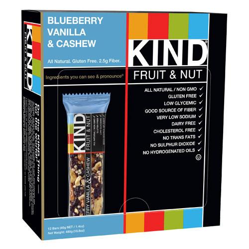 KIND FRUIT & NUT BAR BLUEBERRY VANILLA & CASHEW 1.4oz