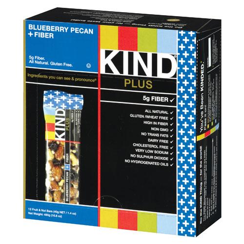 KIND PLUS BAR BLUEBERRY PECAN + FIBER 1.4oz