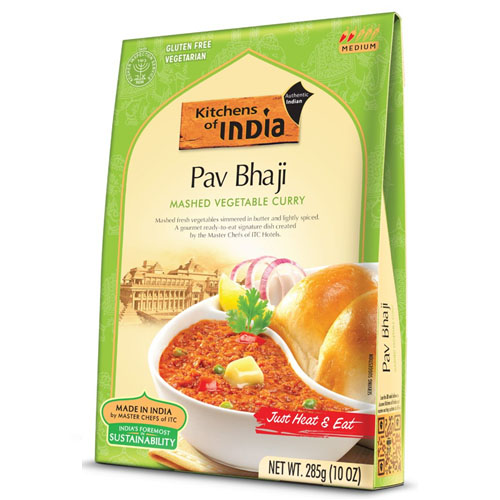 KITCHEN OF INDIA PAV BHAJI MASHED VEGETABLE CURRY 10oz