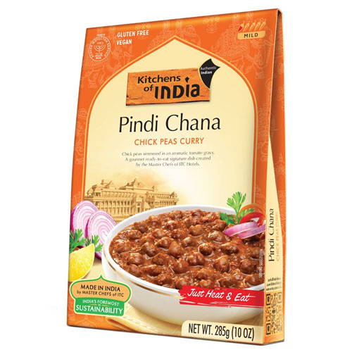 KITCHEN OF INDIA PINDI CHANA CHICK PEAS CURRY 10oz
