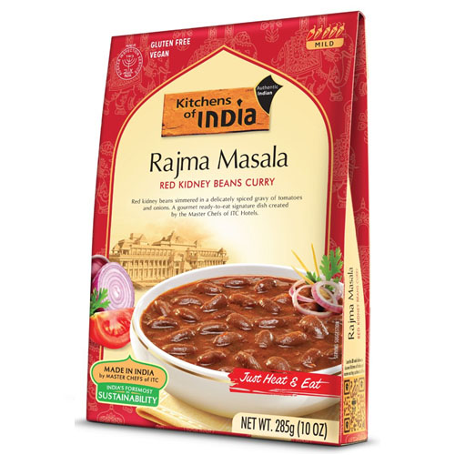 KITCHEN OF INDIA RAJMA MASALA RED KIDNEY BEANS CURRY 10oz