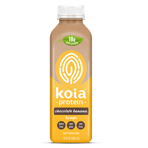 KOIA PROTEIN PLANT BASED SHAKE CHOCOLATE BANANA 12oz
