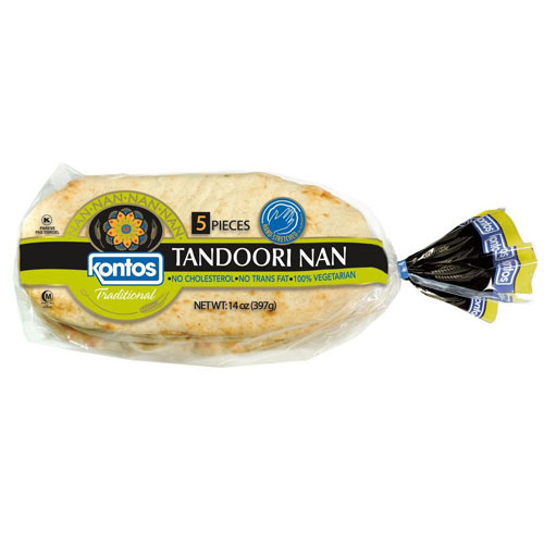 KONTOS TANDOORI NAN 5pc 14oz