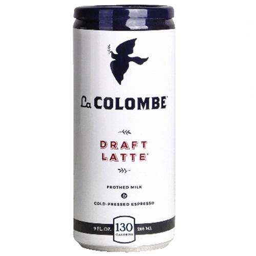 La COLOMBE COLD PRESSED ESPRESSO DRAFT LATTE 9oz