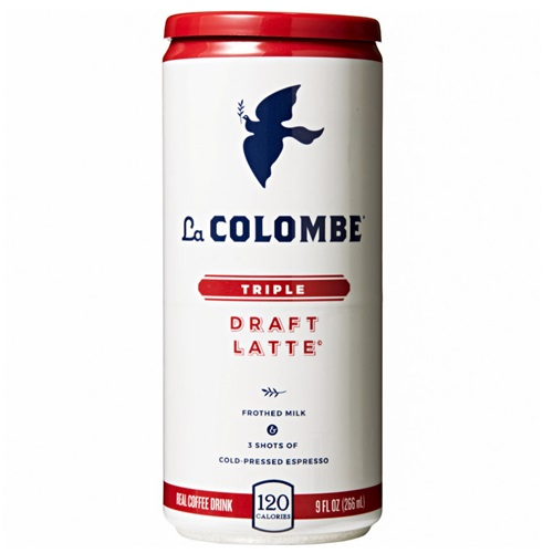 La COLOMBE COLD PRESSED ESPRESSO DRAFT LATTE TRIPLE 9oz