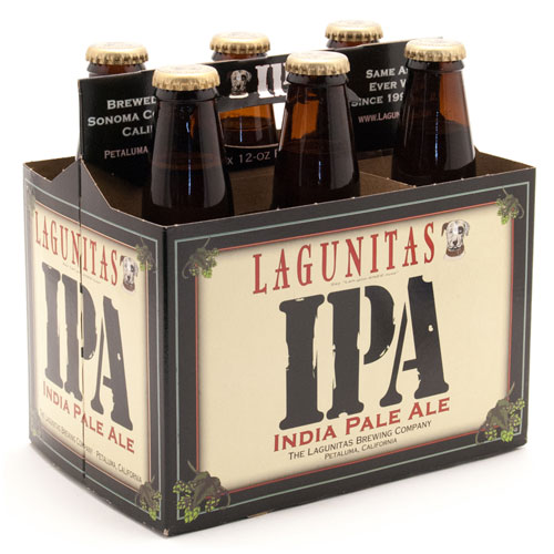 LAGUNITAS INDIA PALE ALE 6PK 12oz.