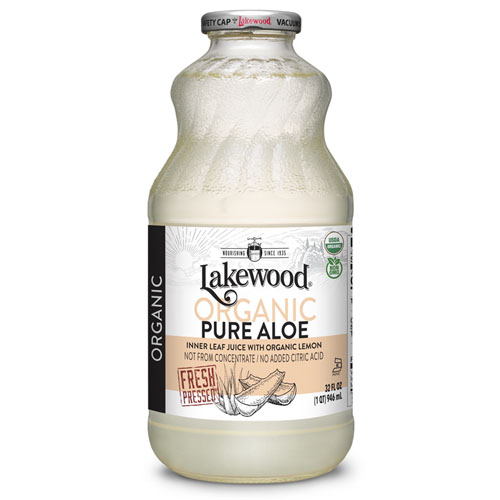 LAKEWOOD ORGANIC JUICE PURE ALOE 32oz