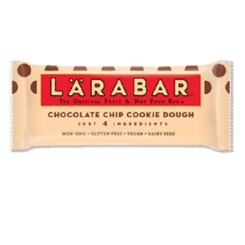 LARABAR VEGAN GLUTEN FREE CHOCOLATE CHIP COOKIE DOUGH BAR 1.6oz