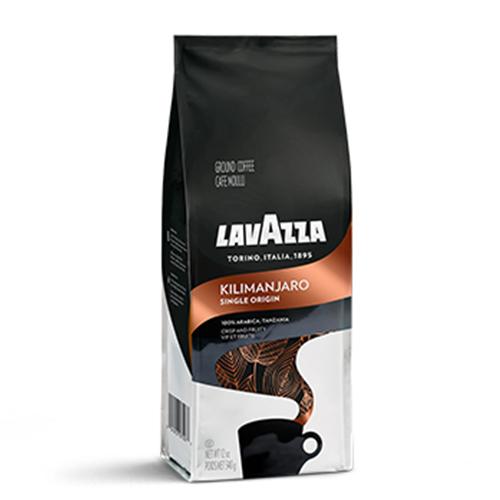 LAVAZZA GROUND COFFEE KILIMANJARO SINGLE ORIGIN 12oz