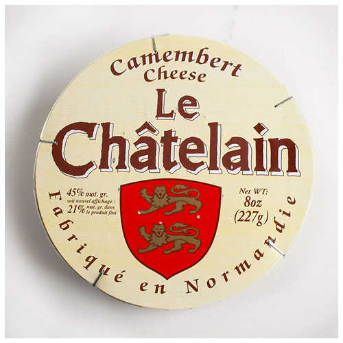 LE CHATELAIN CAMEMBERT CHEESE 8oz