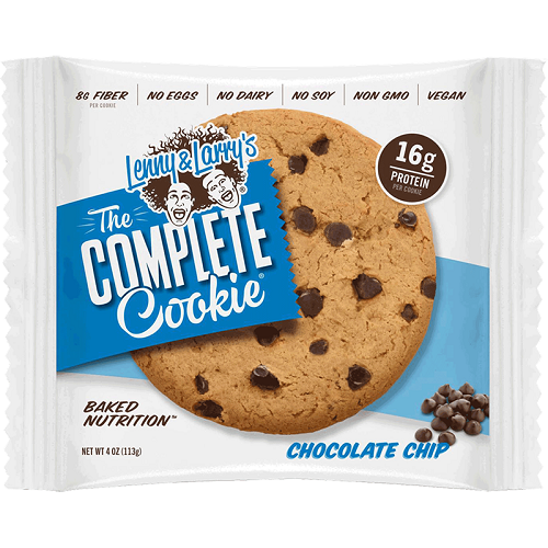 LENNY & LARRY'S VEGAN THE COMPLETE COOKIE CHOCOLATE CHIP 4oz