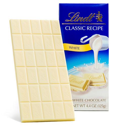 LINDT CLASSIC RECIPE WHITE CHOCOLATE 4.4oz