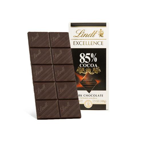 LINDT EXCELLENCE DARK CHOCOLATE 85% 3.5oz