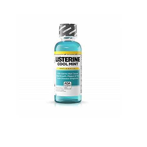 LISTERINE COOLMINT ANTISEPTIC MOUTHWASH 3.2oz