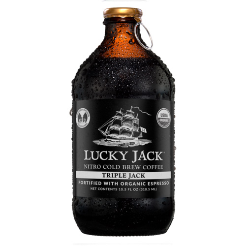 LUCKY JACK NITRO COLD BREW COFFEE 10.5oz