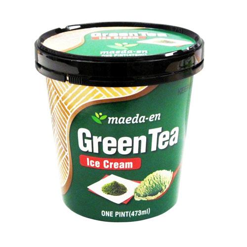 MAEDA-EN ICE CREAM GREEN TEA 16oz