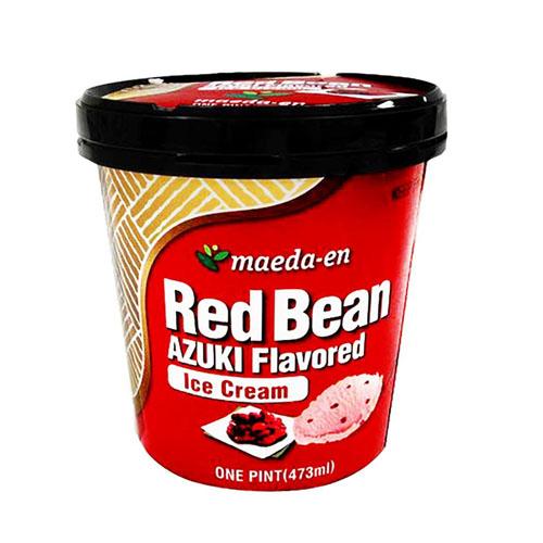 MAEDA-EN ICE CREAM RED BEANS AZUKI 16oz