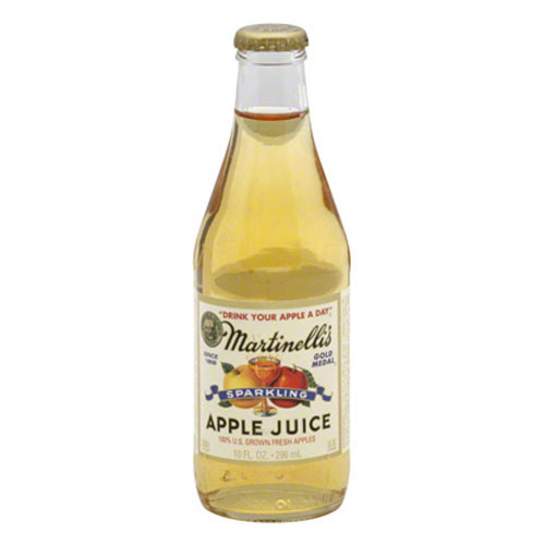MARTINELLI'S SPARKLING APPLE JUICE 10oz
