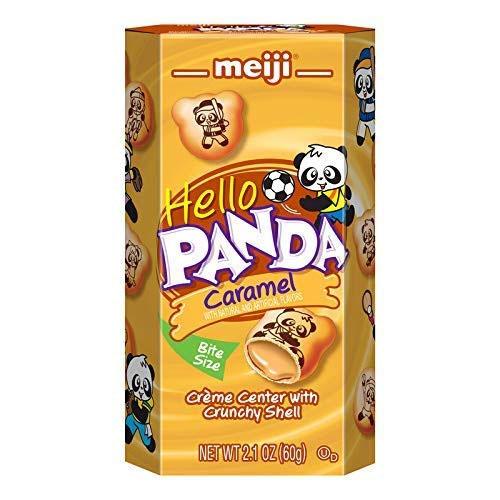 MEIJI HELLO PANDA CARAMEL 2.1oz