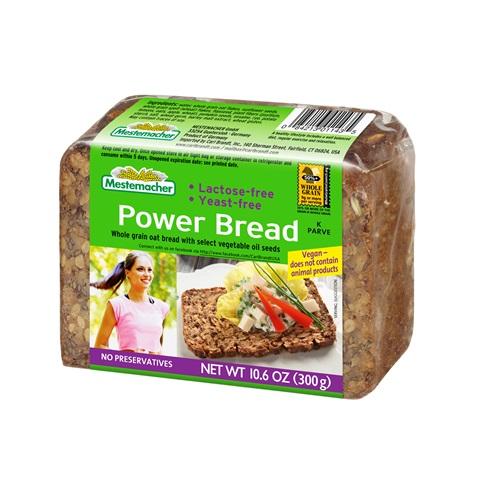 MESTEMACHER POWER BREAD WHOLE GRAIN OAT BREAD 10.5oz