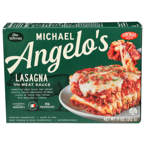 MICHAEL ANGELO'S LASAGNA WITH MEAT SAUCE 11oz