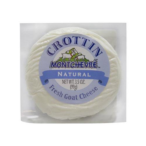 MONTCHEVRE CROTTIN GOAT CHEESE 3.5oz.