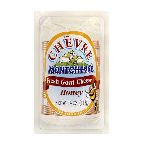 MONTCHEVRE  GOAT CHEESE HONEY 4oz.