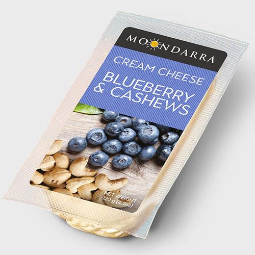 MOONDARRA CREAM CHEESE BLUEBERRY&CASHEWS 4.2oz.