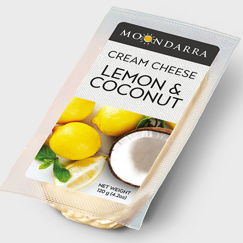 MOONDARRA CREAM CHEESE LEMON&COCONUT 4.2oz