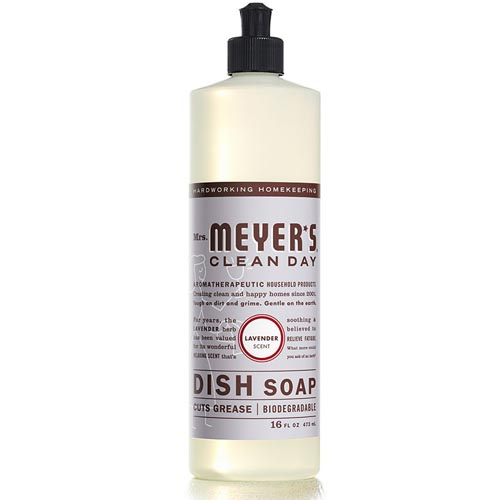 MRS. MEYERS CLEAN DAY DISH SOAP LAVENDER 16oz