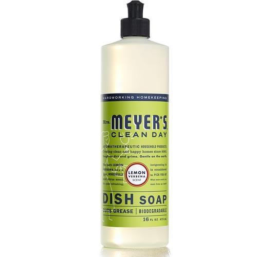 MRS. MEYERS CLEAN DAY DISH SOAP LEMON 16oz